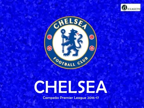 Chelsea - Campeão Inglês - 2016-17 - Dexaketo