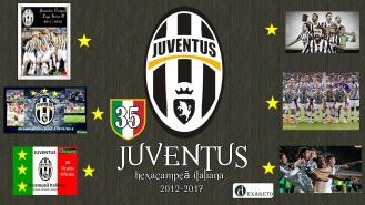 Juventus Hexacampeã Italiana 2012-2017 - Dexaketo