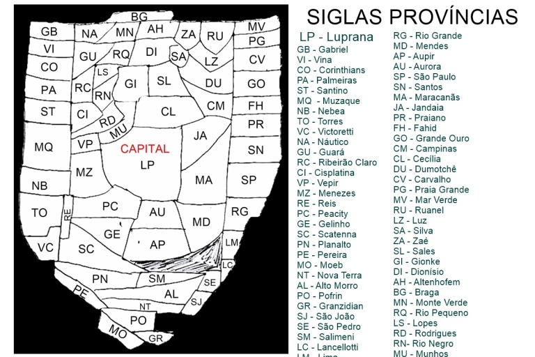 Mapa Sanders - Provincias - Dexaketo