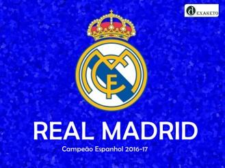 Real Madrid - Campeão Espanhol - 2016-17 - Dexaketo