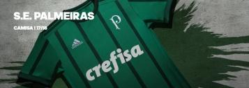 Unifome Palmeiras Adidas CREFISA 2017-2018