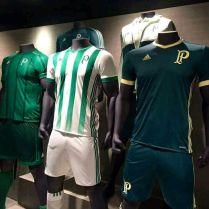 Uniformes Palmeiras ADIDAS 2017