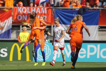 Netherlands Champions - UEFA Womens Euro 2017