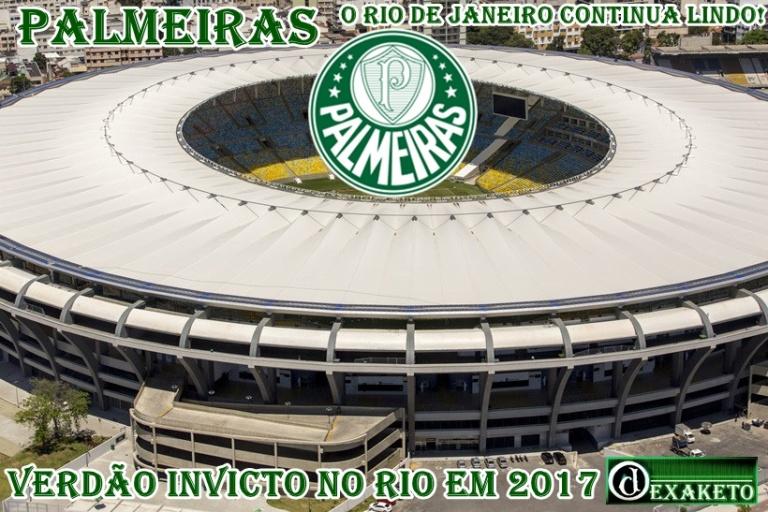 Palmeiras Invicto no Rio de Janeiro - Dexaketo