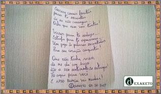 Apaixonado e Qurendo Te Apaixonar - Poema - Dexaketo