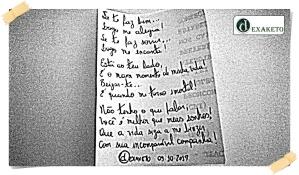Maravilhoso Momento É Está Contigo - Poesia - Dexaketo