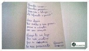 Poesia Para Quem Não Me Quer - Poesia - Dexaketo