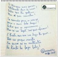 Te Marquei - Poesias - Dexaketo