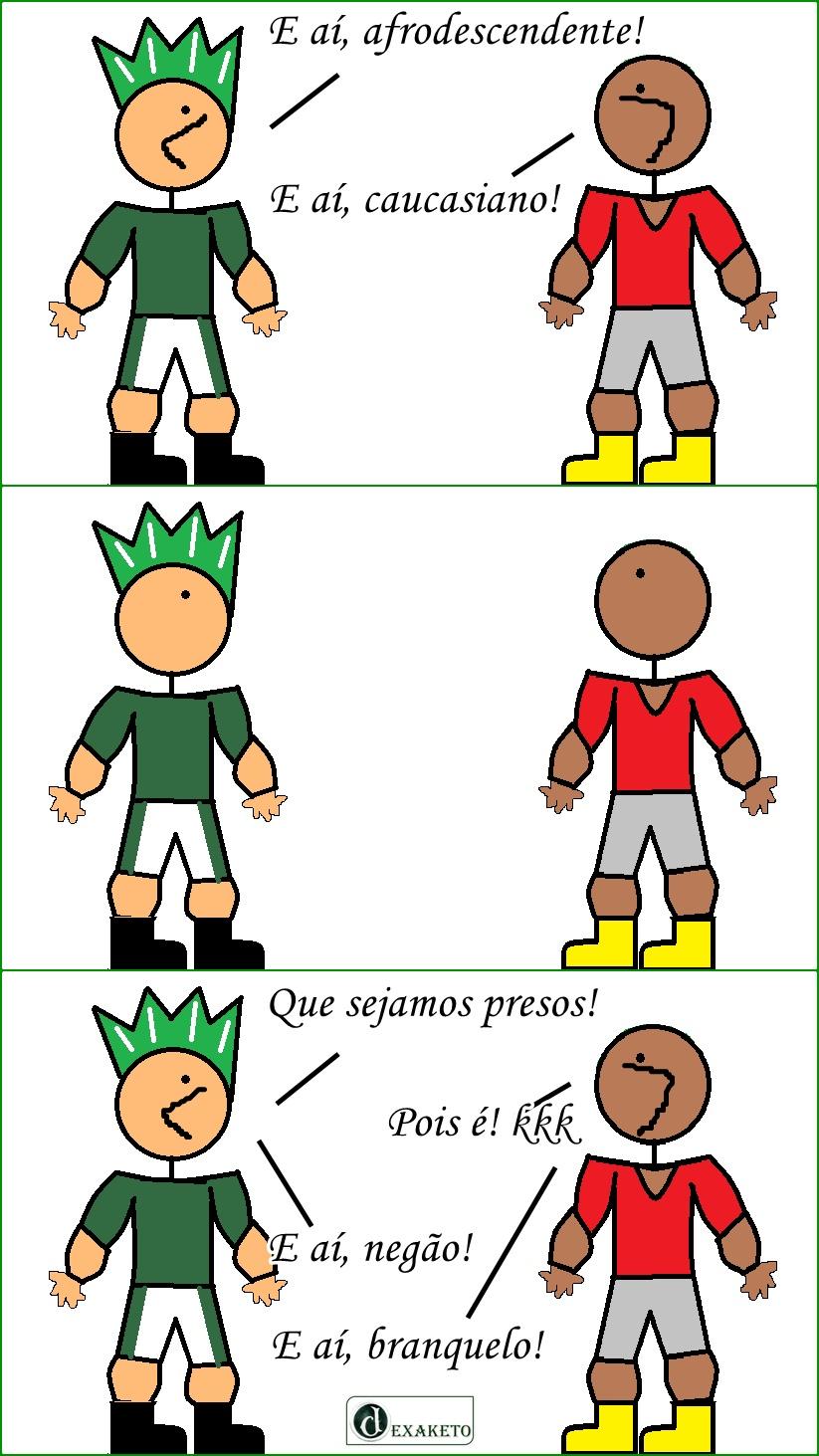 Negão e Branquelo - Dexaketo