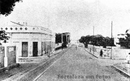 Avenida Santos Dumont, antiga Rua do Colégio - 1932 - Fortaleza
