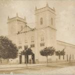 Igreja de Bom Jesus dos Aflitos na antiga Vila de Arronches, atual Parangaba - Foto do Museu da Imagem e do Som - Fortaleza