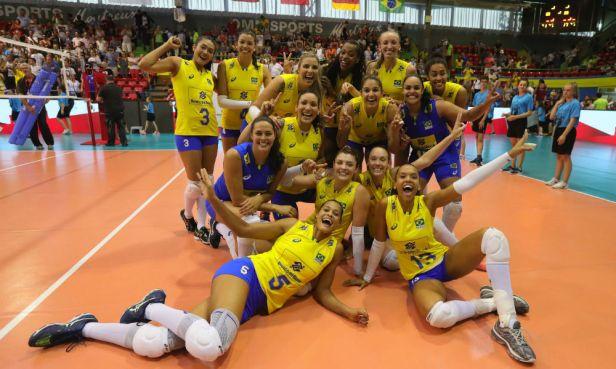 Seleção Brasileira Volei Feminino 2017