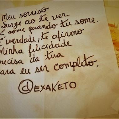 Poema no Guardanapo - Dexaketo (2)