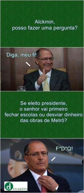 Uma Pergunta Para Alckmin - Dexaketo