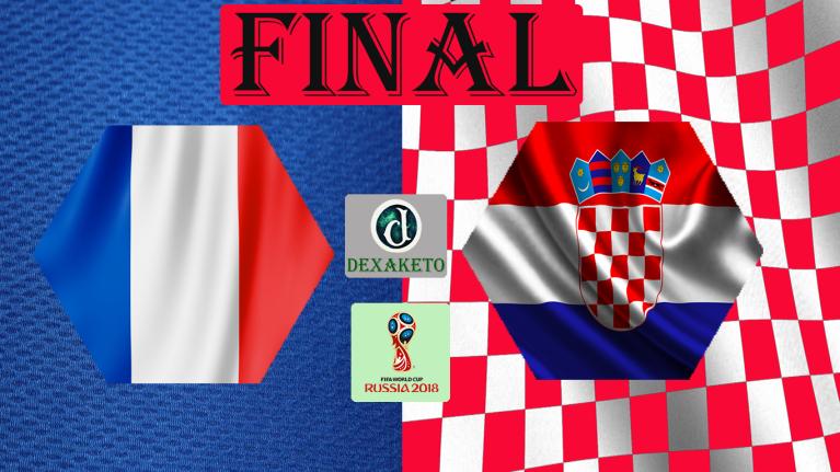 França x Croacia - Final - FIFA World Cup Russia 2018 - Dexaketo