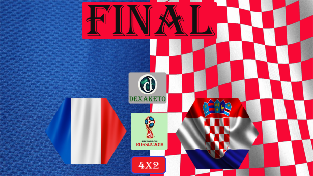 França x Croacia - Final - FIFA World Cup Russia 2018 - Dexaketo