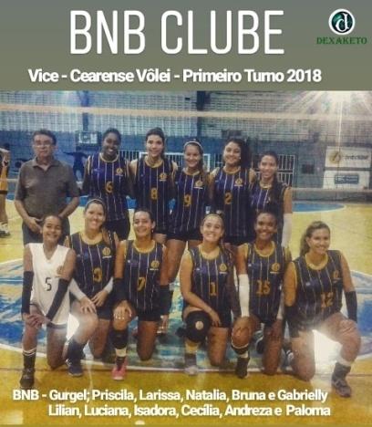 BNB - Vice - 1º Turno - Campeonato Cearense de Vôlei Feminino 2018 - Dexaketo