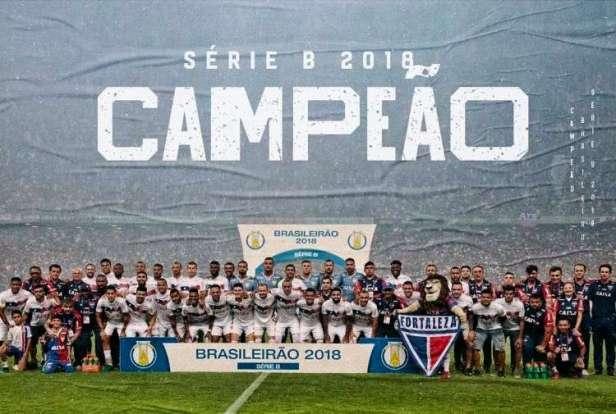 Fortaleza Campeão Brasileiro Série B 2018
