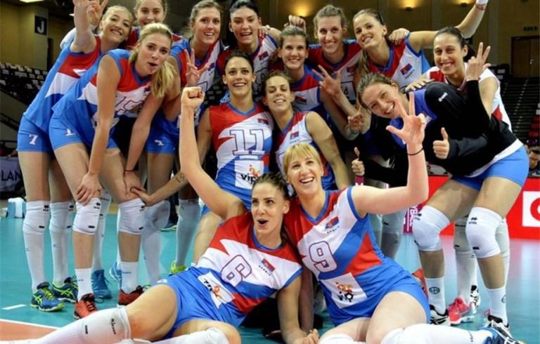 Serbia World Champion Womens Volleyball 2018