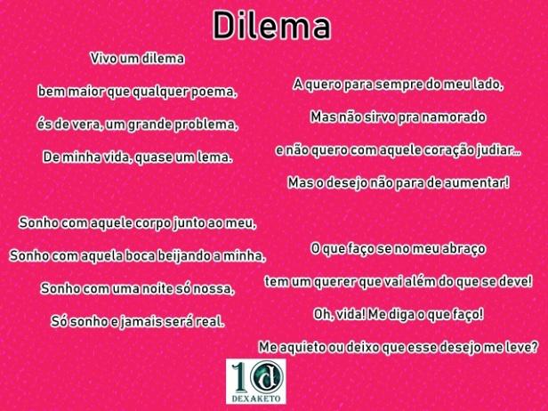 dilema - dexaketo