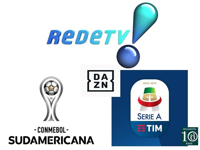 Rede TV transmitirá Copa Sul-Americana e Campeonato Italiano - Dexaketo