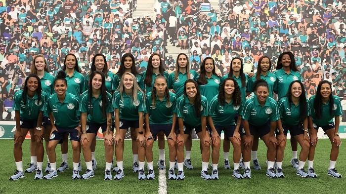 Time Feminino Palmeiras 2019